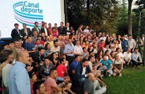 Empresa de organización de eventos deportivos - grupo de la empresa canal isabel ii