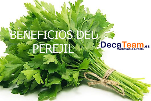 beneficios-perejil- decateam - organizacion y gestion de eventos deportivos
