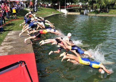 organizacion eventos deportivos - triatlon de tres cantos