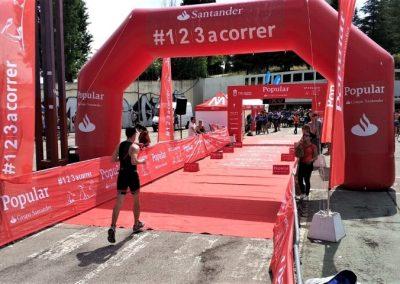servicios deportivos - triatlon de tres cantos - llegada