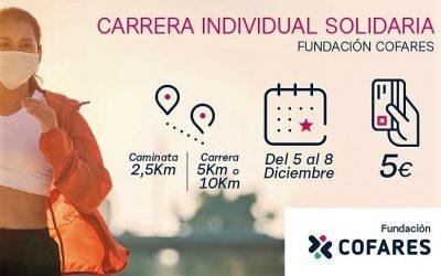 Carrera Virtual Solidaria de la Fundación Cofares
